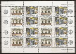 GRECIA 1990 - Yvert #1726/27 (Minipliego) - MNH ** - Hojas Completas