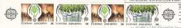 MEDIO AMBIENTE - GRECIA 1986 - Yvert #C1611A (Carnet) - MNH ** - Protección Del Medio Ambiente Y Del Clima