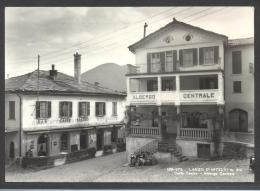 4683-LANZO D´INTELVI(COMO)-CAFFE´ TEATRO-ALBERGO CENTRALE-FG - Alberghi & Ristoranti