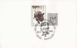 Koksijde - Kortrijk - Streuvelsroute - Stijn Streuvels - 29 Maart 1975 - Schrijvers