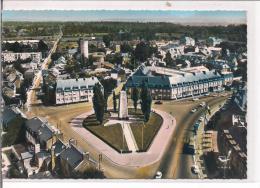 En Avion Au Dessus De La Place Patton - Avranches