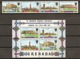 GRENADA 1970 - Yvert #344/47+H6 - MNH ** - Grenada (1974-...)
