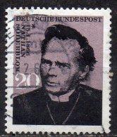 GERMANY 1966 Birth Centenary Of Nathan Soderblom (Archbishop Of Uppsala) - 20pf N. Soderblom  FU - Gebraucht