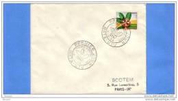 WALLIS ET FUTUNA - MATA-UTU - LETTRE - FDC - PREMIER JOUR - FLORE D'OUTRE MER - 04 / 08 / 1958 - FDC