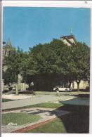 Saint Pons De Thomieres -Place De La Mairie Et Au Fond La Cathédrale - Saint-Pons-de-Thomières