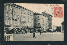 CROATIE - FIUME - RIJEKA - Piazza Adamich - Croatie