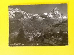CERVINIA BREUIL M.2050 VIAGGIATA DEL 1961 IN BUONO STATO - Italia