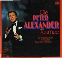 * 2LP Box *  DIE PETER ALEXANDER TOURNEE (Germany 1971 Ex !!! ) Selten!!! - Vinylplaten