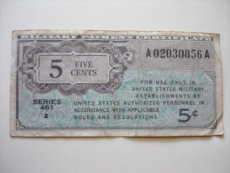 5 C - Military Payment Certificates (1946-1973)