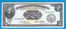 FILIPINAS - PHILIPPINES -  2 Pesos ND  SC  P-134 - Filipinas