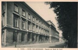 Paris Hotel Des Monnaies Façade Sur Quai De Conti - Monnaies (représentations)