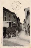Condrieu – La Grande Rue (diligence) - Condrieu