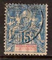 DIEGO SUAREZ 1892 NAVIGATION COMMERCE SC # 30 USED - Usati