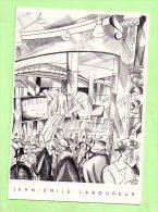 Publicité  Neuve - Bibliothèque 30: 9/1996 - Jean Emile LABOUREUR, Illustrateur - Nantes