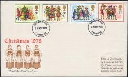 GB 1978-0005, Christmas FDC - FDC