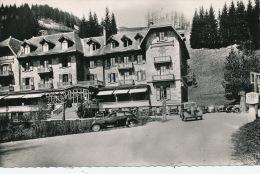SAINT PIERRE DE CHARTREUSE - L'Hôtel Du Grand SOM (1955) - Automobiles - Autres Communes