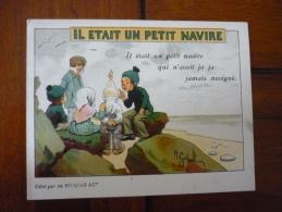 Alcool De Menthe Ricqulès Il était Un Petit Navire 2 - Kaufmanns- Und Zigarettenbilder