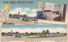 Florida Jacksonville Barnes Motor Court One Mil South Of Bridge - Jacksonville