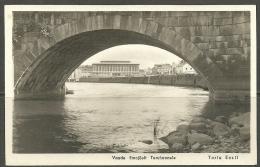 Estonia Estonie Estland TARTU DORPAT Markt Embach Brücke E: Selleke Foto Ca 1925 - Estonie