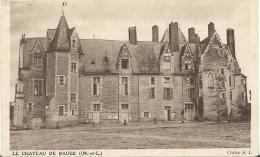 R ; Maine Et Loire :  LE   CHATEAU  De  BAUGé - France