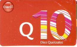 TARJETA TIGO DE GUATEMALA DE 10 QUETZALES - Guatemala