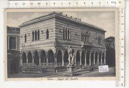 PO0506C# UDINE - LOGGIA DEL LIONELLO  VG STORIA POSTALE - ZONA SPROVVISTA DI BOLLI RSI REPUBBLICA SOCIALE 1944 - Udine