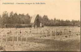 Belgique -ref A487-falisolle -cimetiere Francais De Belle Motte - Carte Bon Etat   - - Belgique