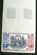WALLIS ET FUTUNA Bicentenaire De La Revolution (yvert PA 175 NON DENTELE ) ** MNH