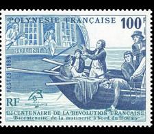 POLYNESIE Bicentenaire De La Revolution (yvert N°336 DENTELE ) ** MNH