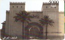 TARJETA DE IRAQ DE UN MONUMENTO DE 5000 UNITS - Iraq