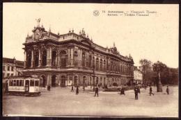 ANTWERPEN / ANVERS - Vlaamsch Theater - Théâtre Flamand - TRAM - Non Circulé - Not Circulated - Nicht Gelaufen. - Antwerpen