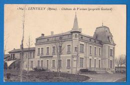CPA 69 - LENTILLY - CHATEAU DE VARINES - Autres Communes