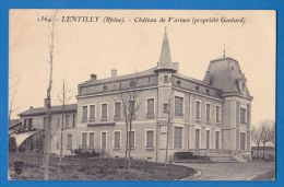 CPA 69 - LENTILLY - CHATEAU DE VARINES - France