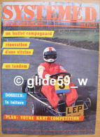 Système D - N° 461 - Juin 84 - Plan Votre Kart Compétition - Bricolage / Tecnica