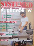 Système D - N° 465 - Octobre 84 - Plan Meuble TV Et Hi-fi - Bricolage / Tecnica