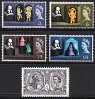 GREAT BRITAIN 1964 Shakespeare Festival - 1952-.... (Elizabeth II)