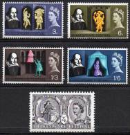 GREAT BRITAIN 1964 Shakespeare Festival - 1952-.... (Elisabeth II.)