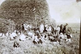Juan Bautista Alberdi Argentina 1903 Gaucho Cosecha Heno Harvest Hay Moisson Foin En La Granja Francesa De Mr Larrague - Lieux