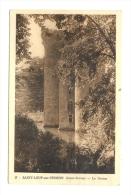 Cp, 79, St-Loup-sur-Thouet, Le Donjon - Saint Loup Lamaire