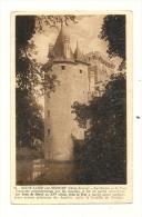 Cp, 79, St-Loup-sur-Thouet, Le Donjon Et La Tour - Saint Loup Lamaire