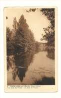 Cp, 79, St-Loup-sur-Thouet, Les Bords Du Thouet, Au Fond, Le Viaduc - Saint Loup Lamaire