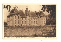 Cp, 79, St-Loup-sur-Thouet, Le Château - Saint Loup Lamaire