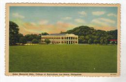 164   Phillipines Manila   COLLEGE OF AGRICULTURE   Baker Memorial Bldg - Filippine