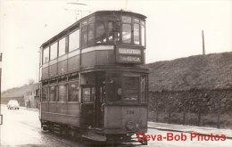 Tram Photo GLASGOW Kilmarnock Bogie Car 1106 Corporation Tramways Tramcar - Trains