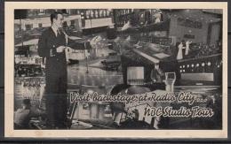 United States Nice  Radiocity NBC Card  Lot 589 - Postal History