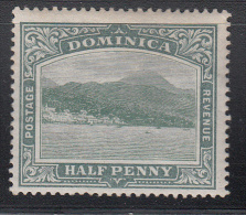 Dominica   Scott No.  25   Unused Hinged    Year 1903 - Dominica (1978-...)