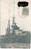 Marinha. Militar. Couraçado Giulio Cesare. Dreadnought. Navy. España. Marina. Italia. Military.  Warship. Marine. - Guerra