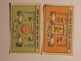 Poland 2 Old  Matchbox Labels - Cajas De Cerillas - Etiquetas