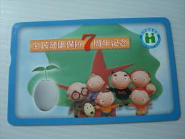 Taiwan Phonecard: 7th Anniversary Of Health Insuance - Taiwan (Formosa)