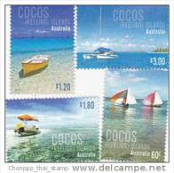Cocos Islands 2011 Boats MNH Set - Cocos (Keeling) Islands